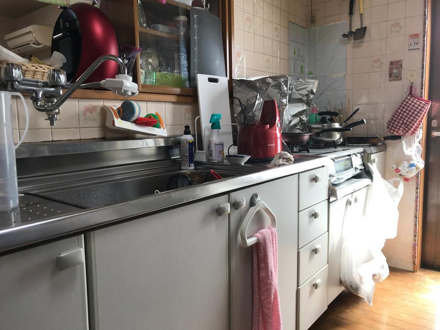 キッチン現状(施工前)