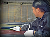 グッドリフォーム職人による外壁塗替作業。塗装リフォーム専門です。