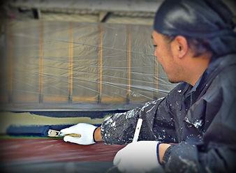 塗装リフォーム専門店のグッドリフォーム塗替えの様子