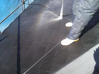 塗装リフォーム専門店のグッドリフォーム施工の様子