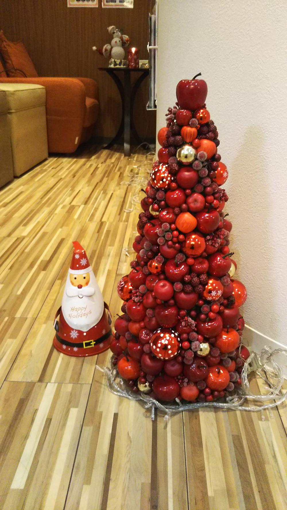 ザ リラックスサロンの店内もクリスマス模様です。