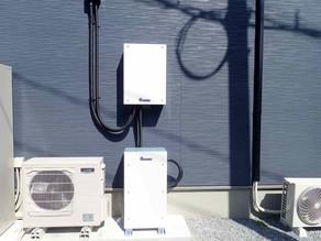田淵電機の蓄電池システムを設置しました。