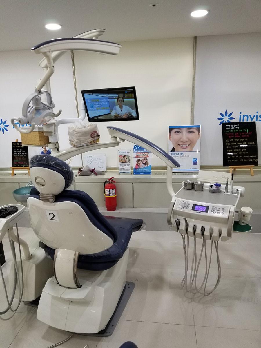 稲澤歯科医院 韓国研修中