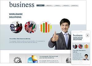Wixテンプレート ビジネス
