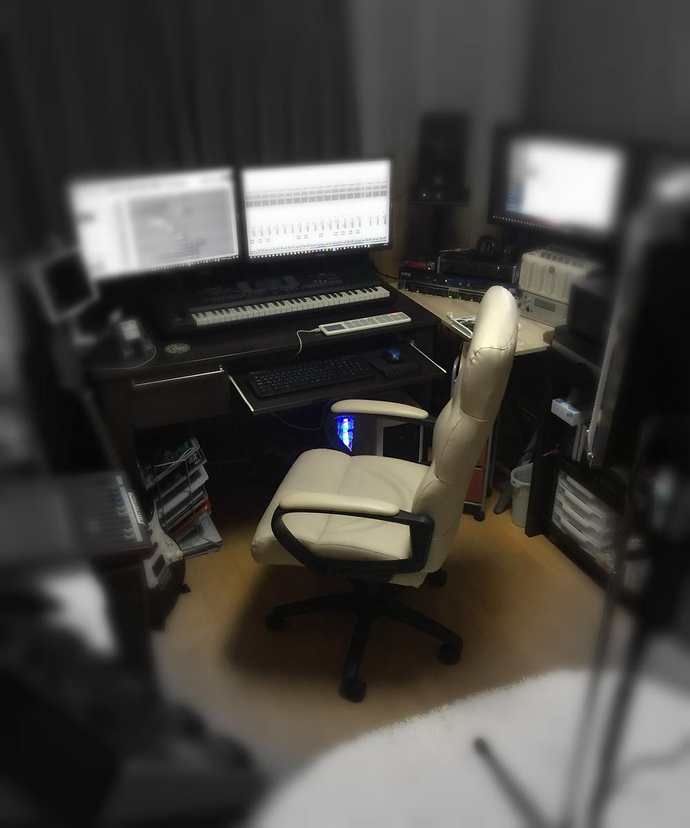 アイスカプロジェクトのスタジオの様子
