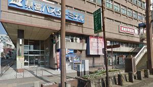 長崎・長崎駅前の稲澤歯科医院のアクセス説明画像