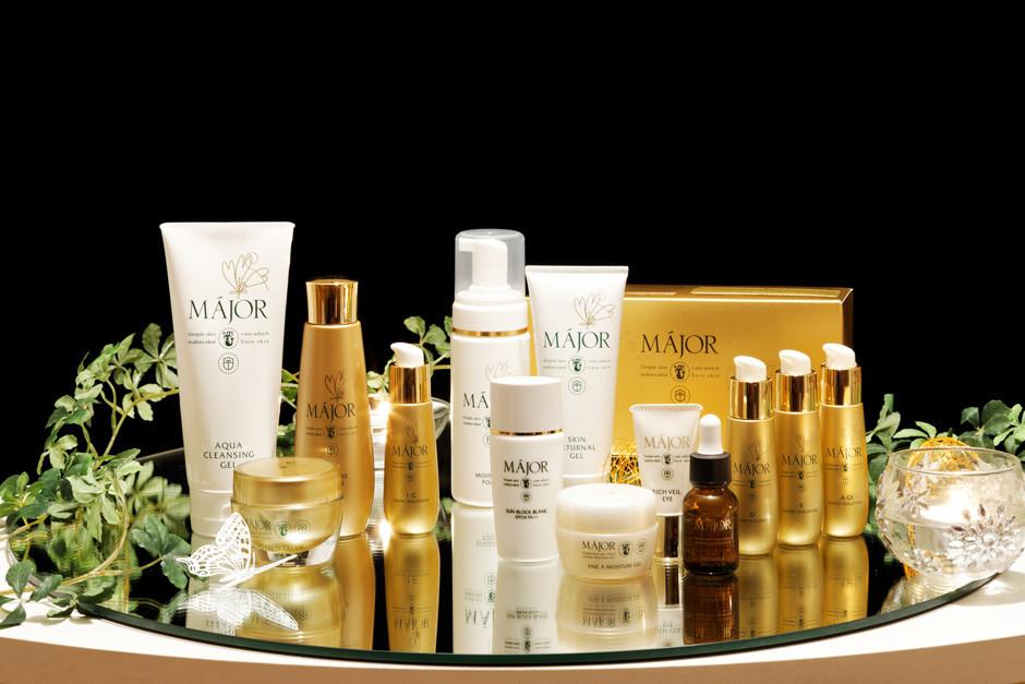 マジョールは肌環境を整える基礎化粧品です。