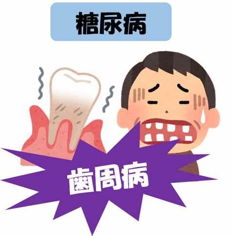糖尿病と歯周病の密接な関係性