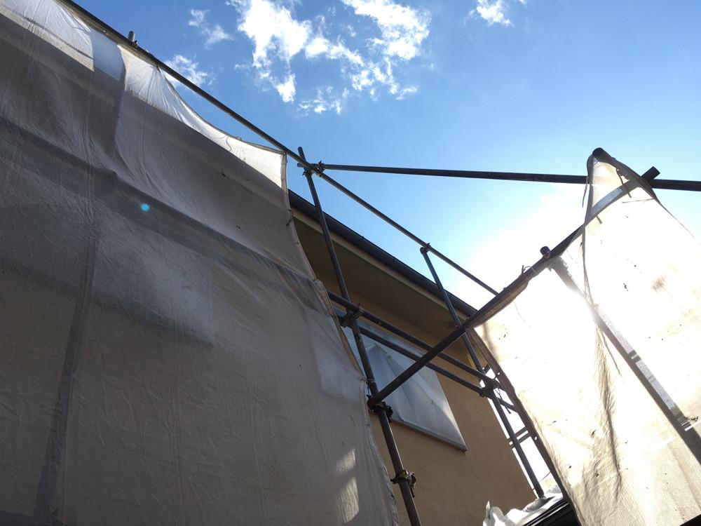 外壁を潮風による被害から守る