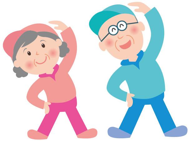 コロナ自粛のための高齢者運動