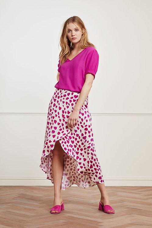 FABIENNE CHAPOT - Cora Happy Leopard Skirt