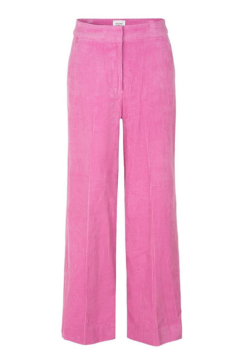 SECOND FEMALE - Pink cord trouser