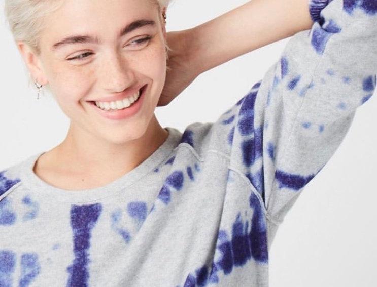 JUMPER1234 - Tie-dye Cashmere Sweater