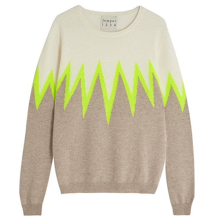 JUMPER 1234 - Starburst Cashmere Sweater