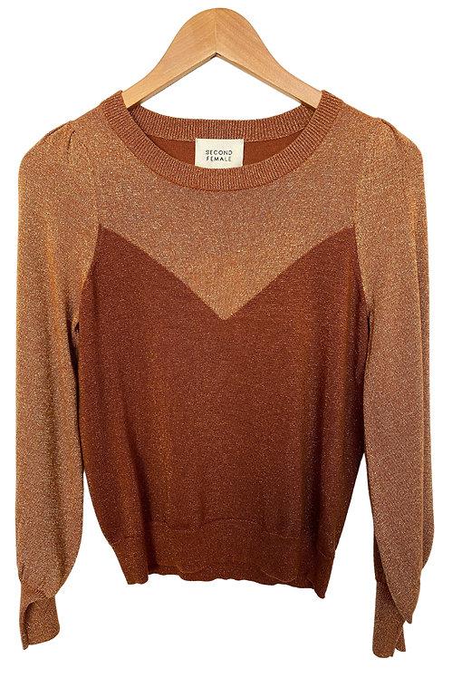 SECOND FEMALE - Bronze Sweater