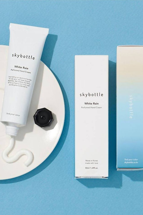 SKYBOTTLE - White Rain Hand Cream