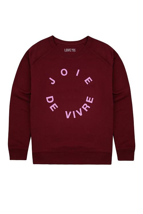 JOIE DE VIVRE SWEATSHIRT