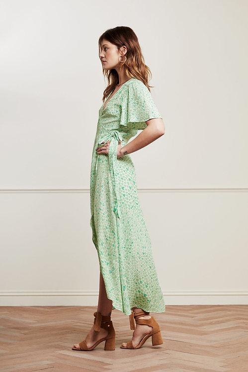 FABIENNE CHAPOT - Archana Butterfly Sleeve Wrap Dress