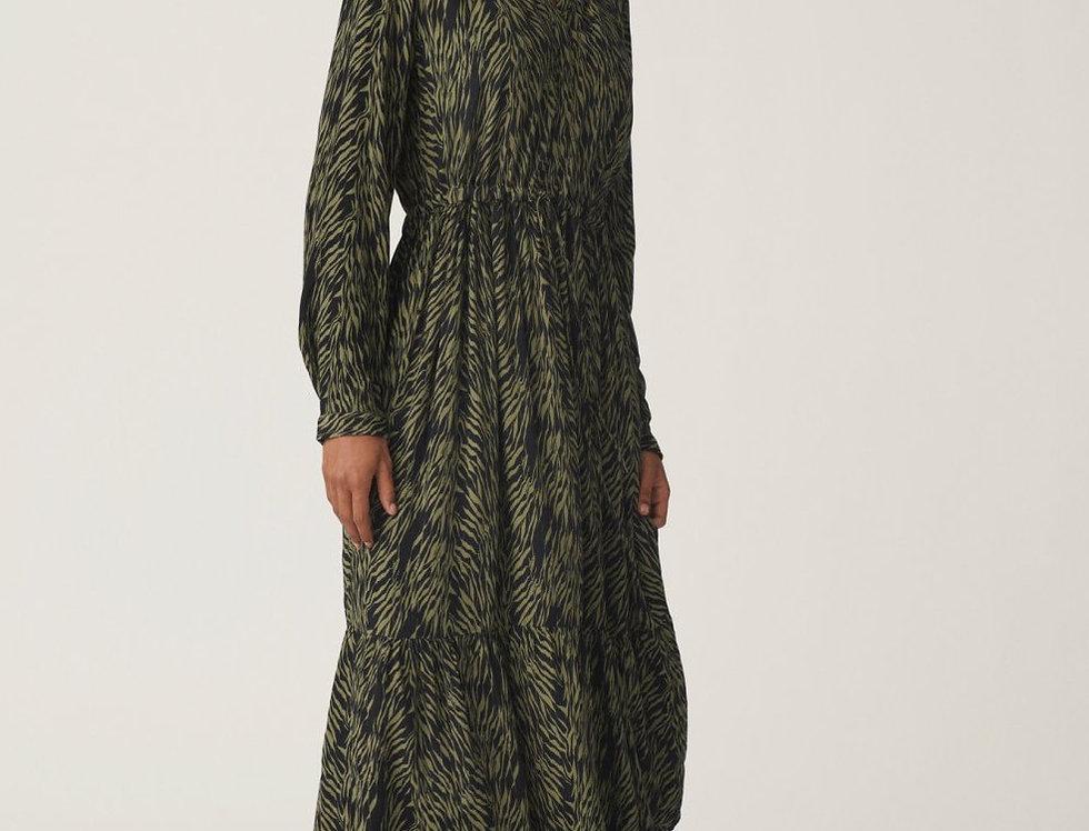 MOSS COPENHAGEN - Sage Zebra Dress