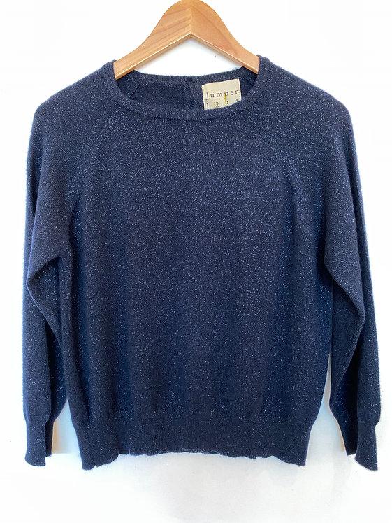 JUMPER1234 - Midnight Cashmere Sweater
