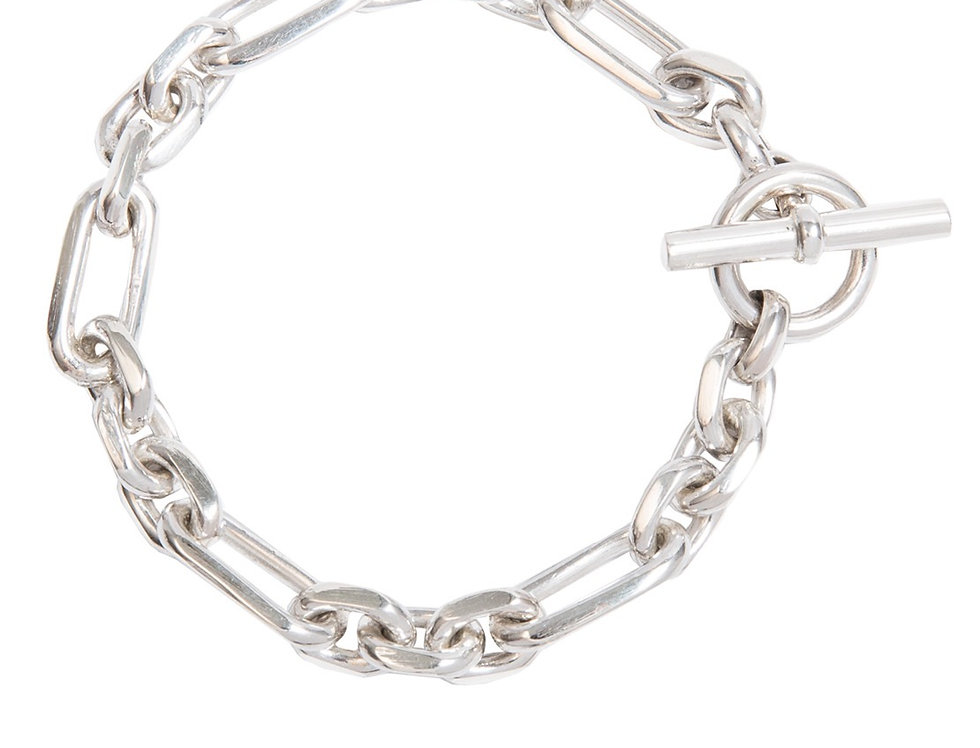 TILLY SVEAAS - Silver Watch Chain Bracelet