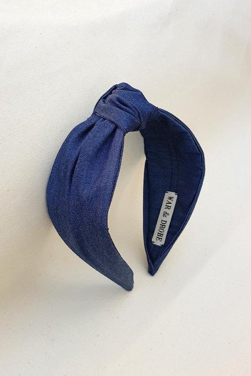 WAR & DROBE - Denim Isabella Headband