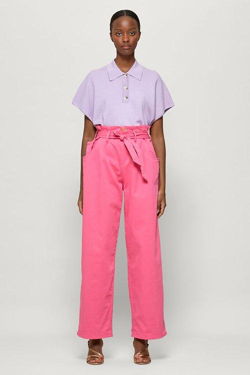 BAUM UND PFERDGARTEN - Ciarrah Knit Polo Shirt