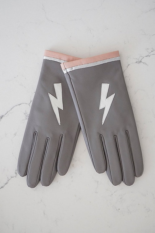 MABEL SHEPPARD - Grey Lightning Gloves