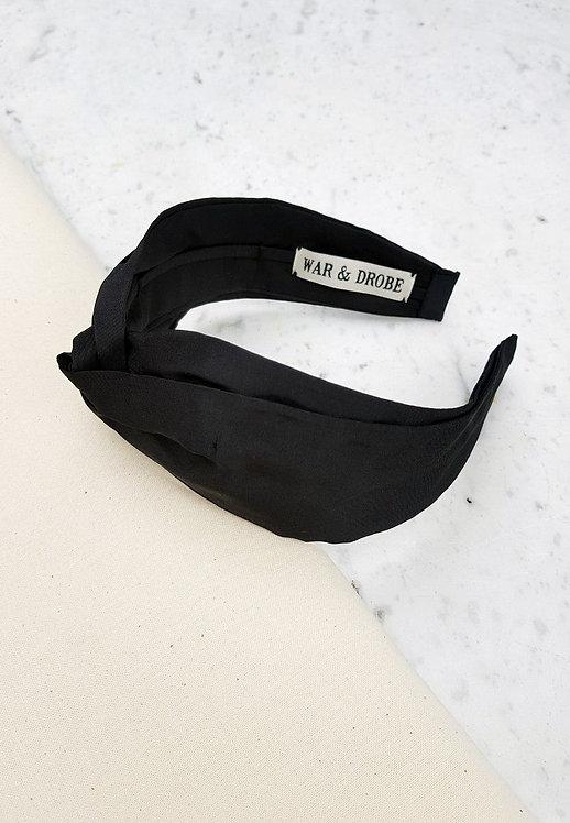WAR & DROBE - Onyx Headband