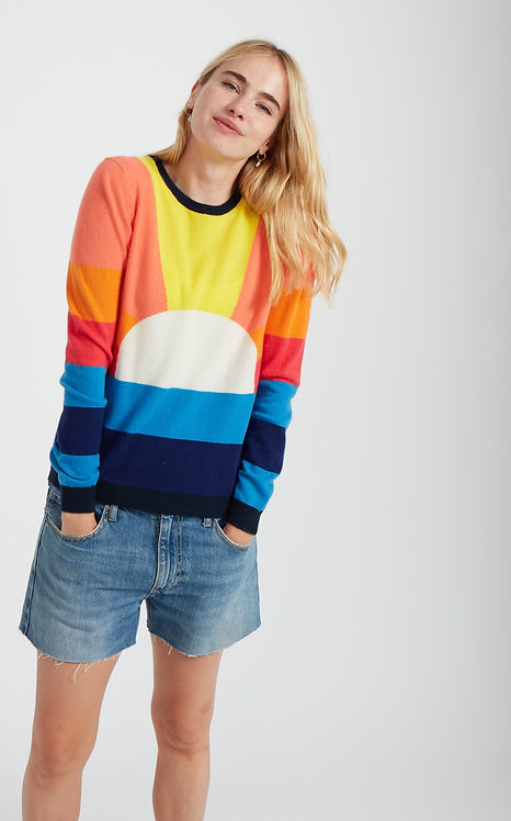 JUMPER 1234 - Sunrise Cashmere Sweater