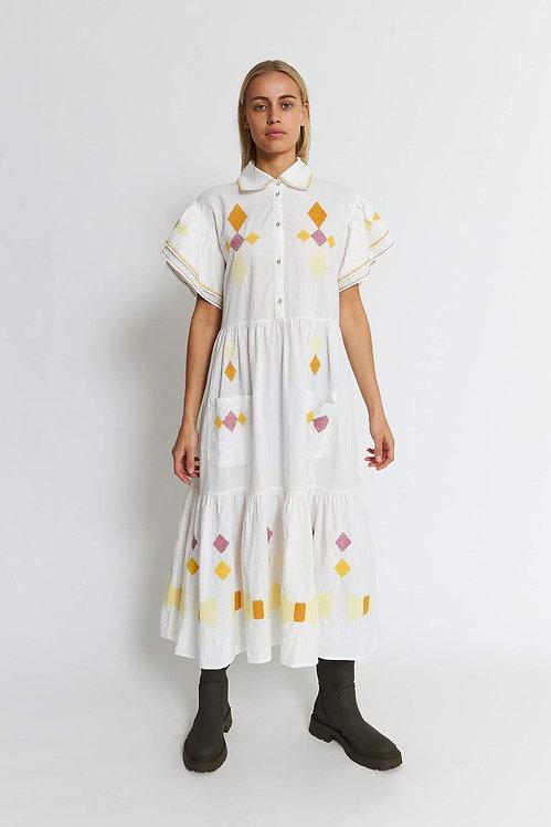 STELLA NOVA - Ranya Dress Ivory