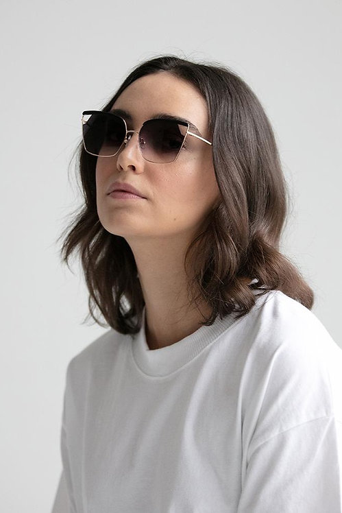 VOW LONDON - Jett Recycled Black Sunglasses