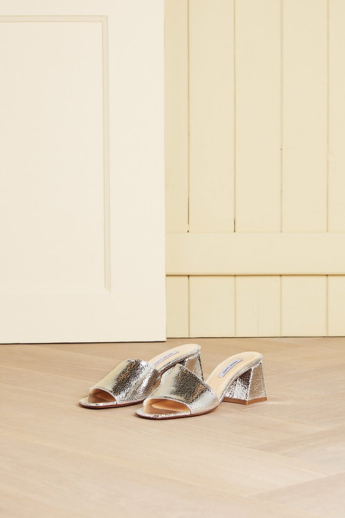 FABIENNE CHAPOT - Ted Silver Mules