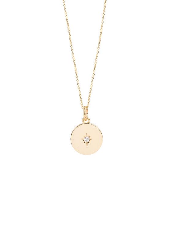 TILLY SVEAAS - Diamante Disc Necklace