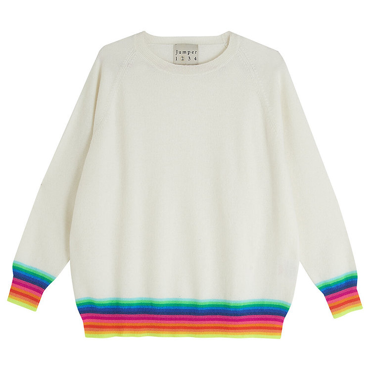 JUMPER 1234 - Mexican Wave Cashmere Sweater