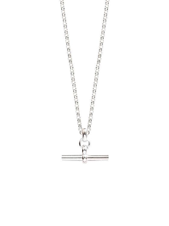 TILLY SVEAAS - Silver T-Bar Necklace