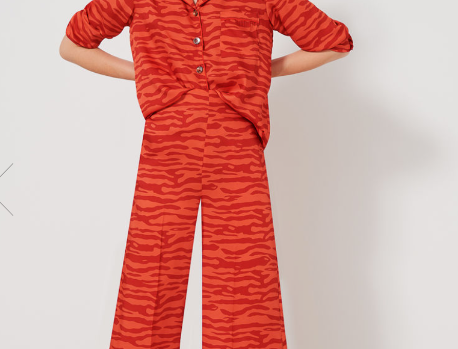 WAIT AND SEE + EMME - Orange Tone Trouser