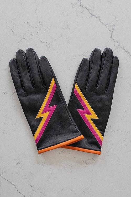 MABEL SHEPPARD - Black Ziggy Gloves