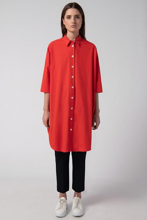 LOREAK MENDIAN - Milo Shirt Dress Red