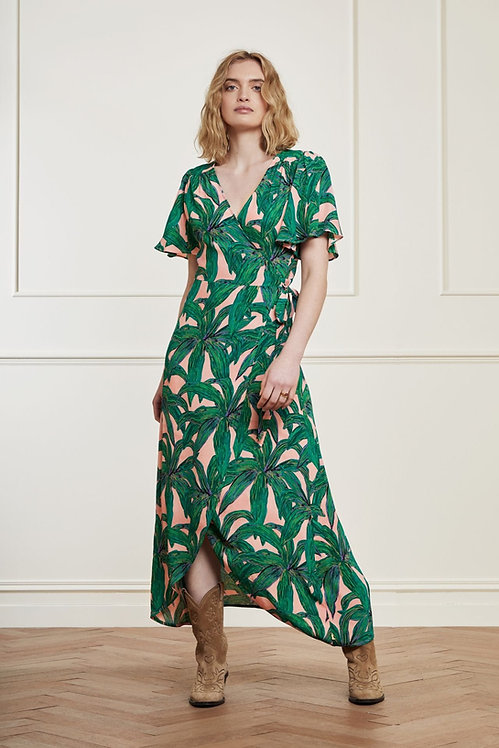 FABIENNE CHAPOT - La La Leaves Wrap Dress