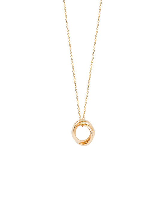 TILLY SVEAAS - Tiny Russian Ring Necklace