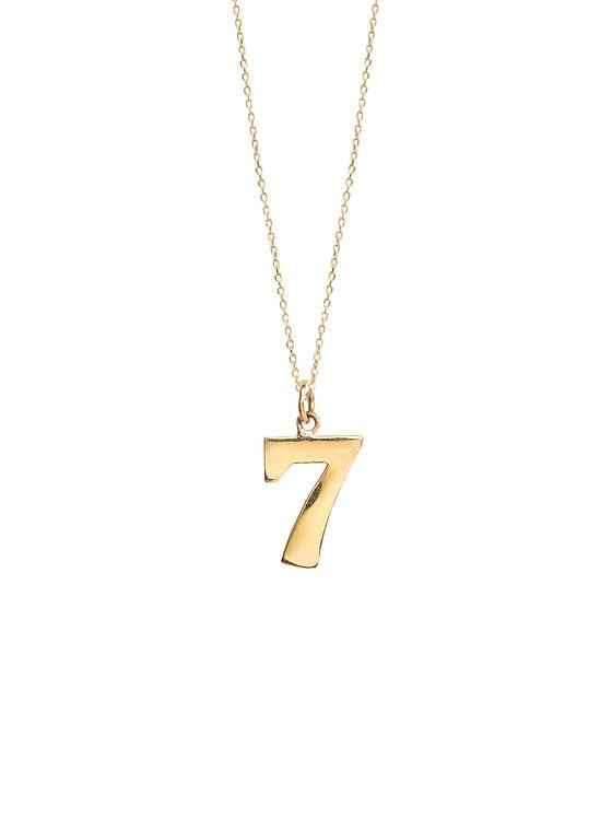TILLY SVEAAS - Lucky No.7 Necklace