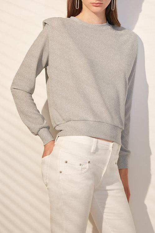 SUNCOO - Silver Sweatshirt