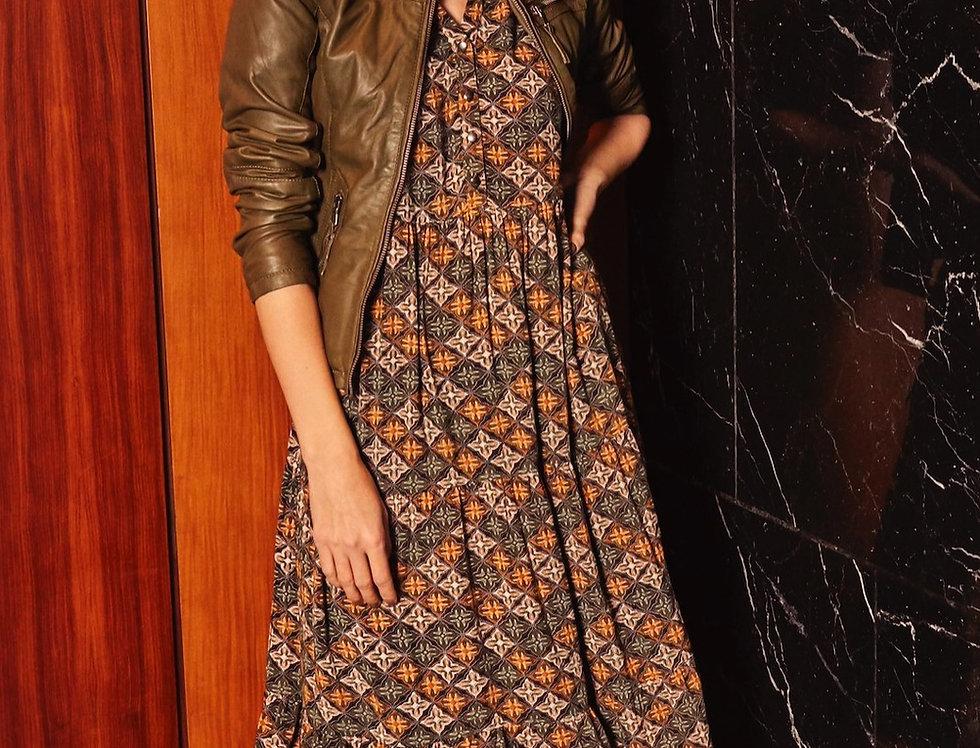 FRANSA - Autumn Buffet Dress