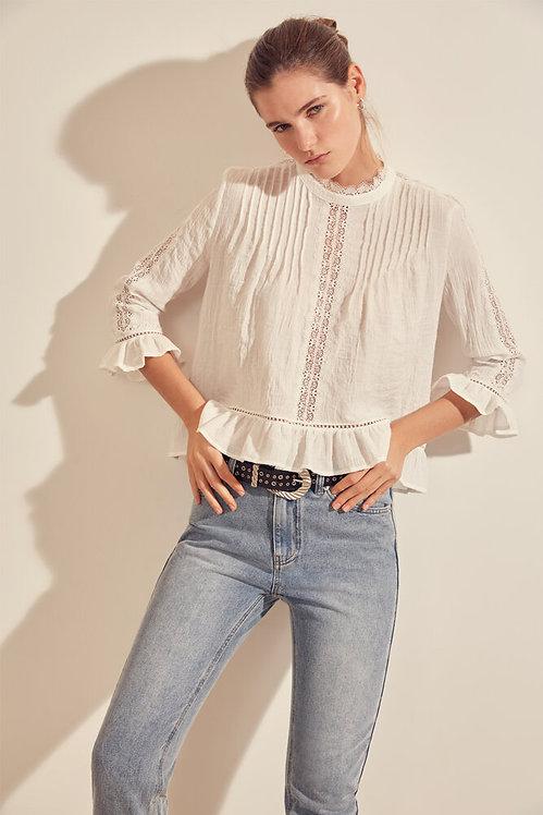 SUNCOO - Chloe cotton blouse