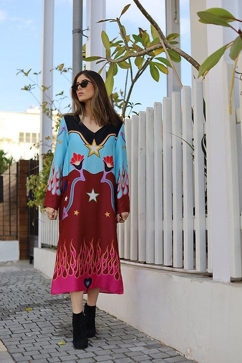 ME369 - Fleur Fire Dress