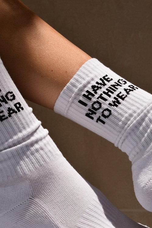 SOXYGEN - I Have Nothing To Wear Socks