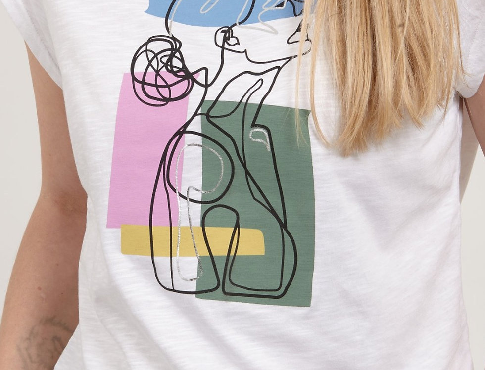COSTER COPENHAGEN - Silver Face T-Shirt