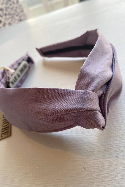 WAR & DROBE - Lilac Headband