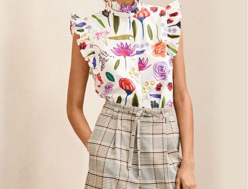BAUM UND PFERDGARTEN - Medora Sleeveless Shirt